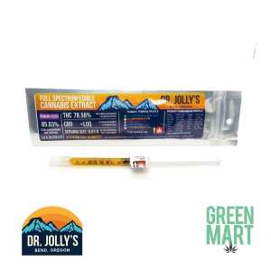 Dr Jollys RSO - Banana Kush High THC