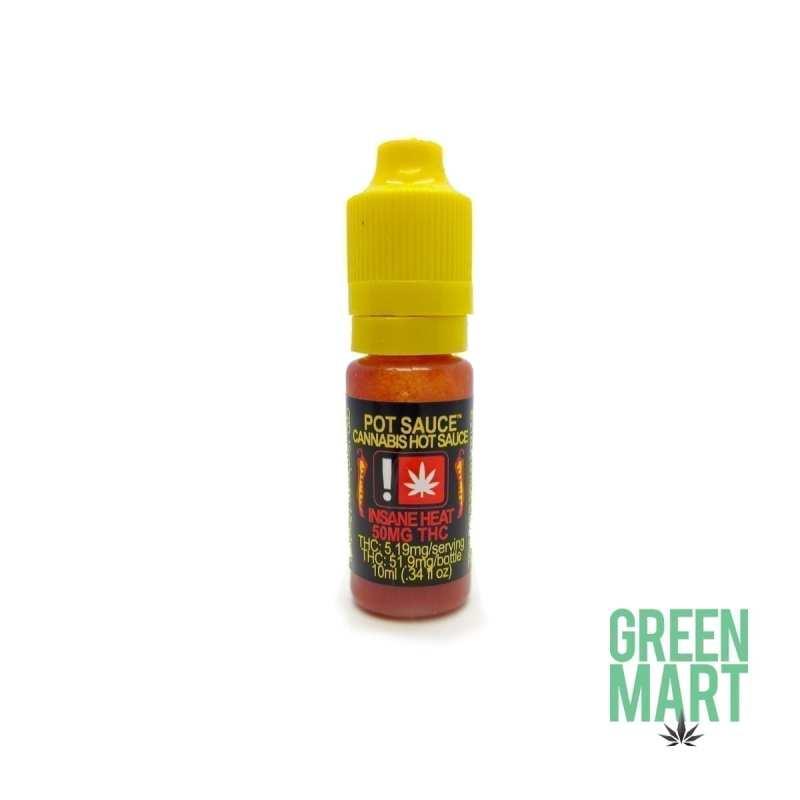 Pot Sauce - Cannabis INSANE HEAT Hot Sauce