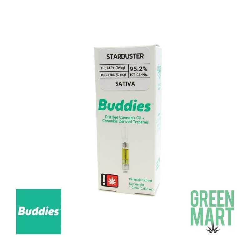 Buddies Brand Distillate Cartridge - Starduster