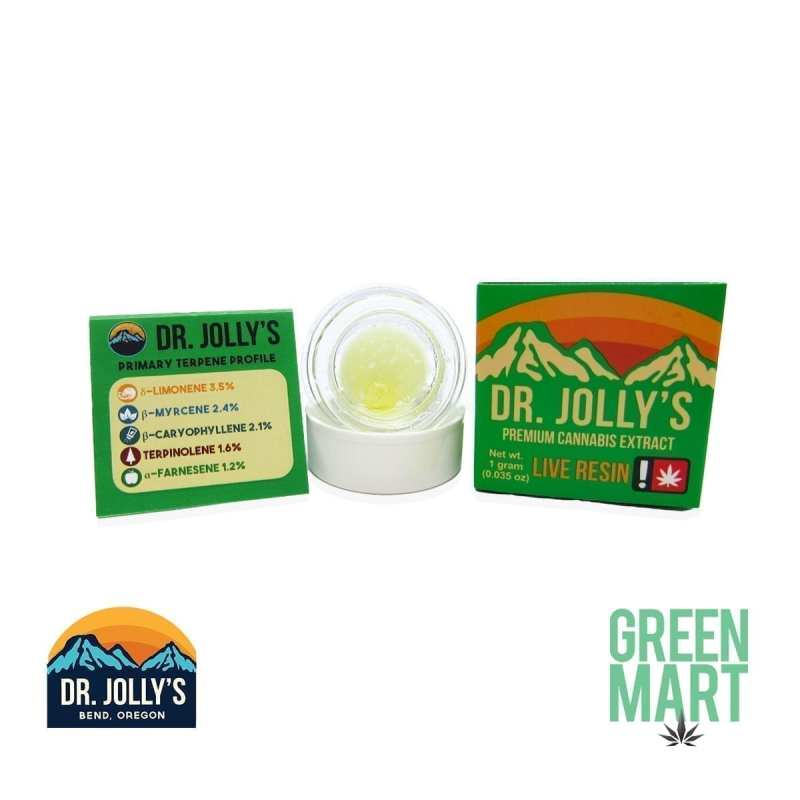 Dr. Jolly's Extracts - Super Lemon MAC Live Resin