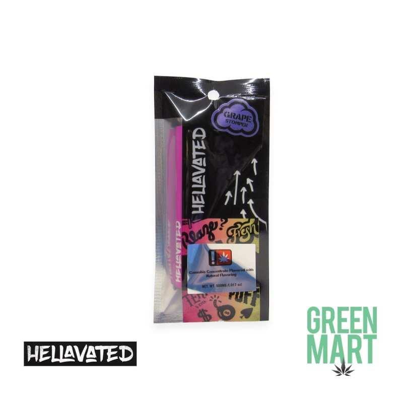 Hellavated DISPOSABLE Vape - Grape Stomper