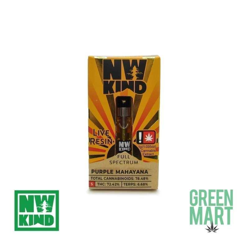 NW Kind Distillate Cartridge - Purple Mahayana