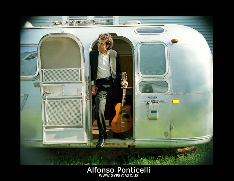 (9pm - 1am) ALFONSO PONTICELLI & SWING GITAN