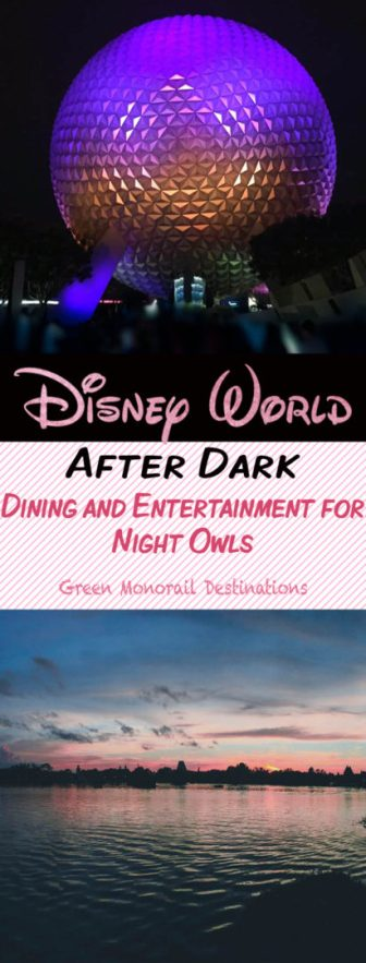 Disney After Dark: Everything you can do in Disney World after the sun goes down! #disneyworld #disney #nightlife