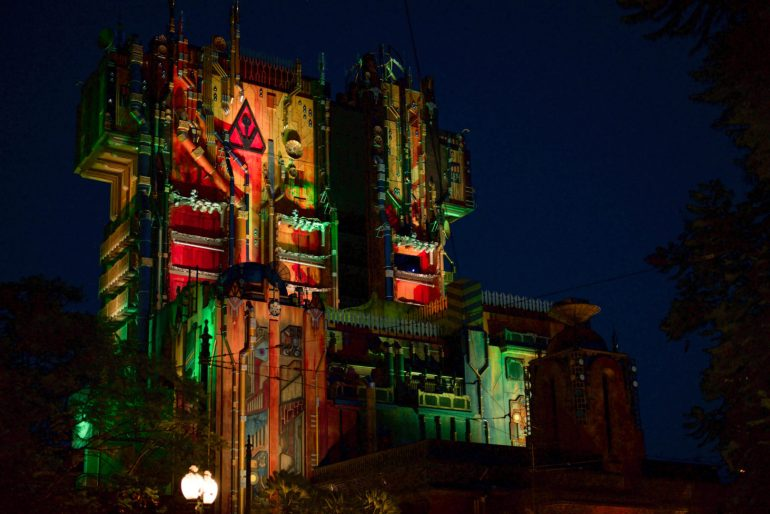 Guardians of Galaxy Mission Breakout Ride at Disneyland's California Adventure