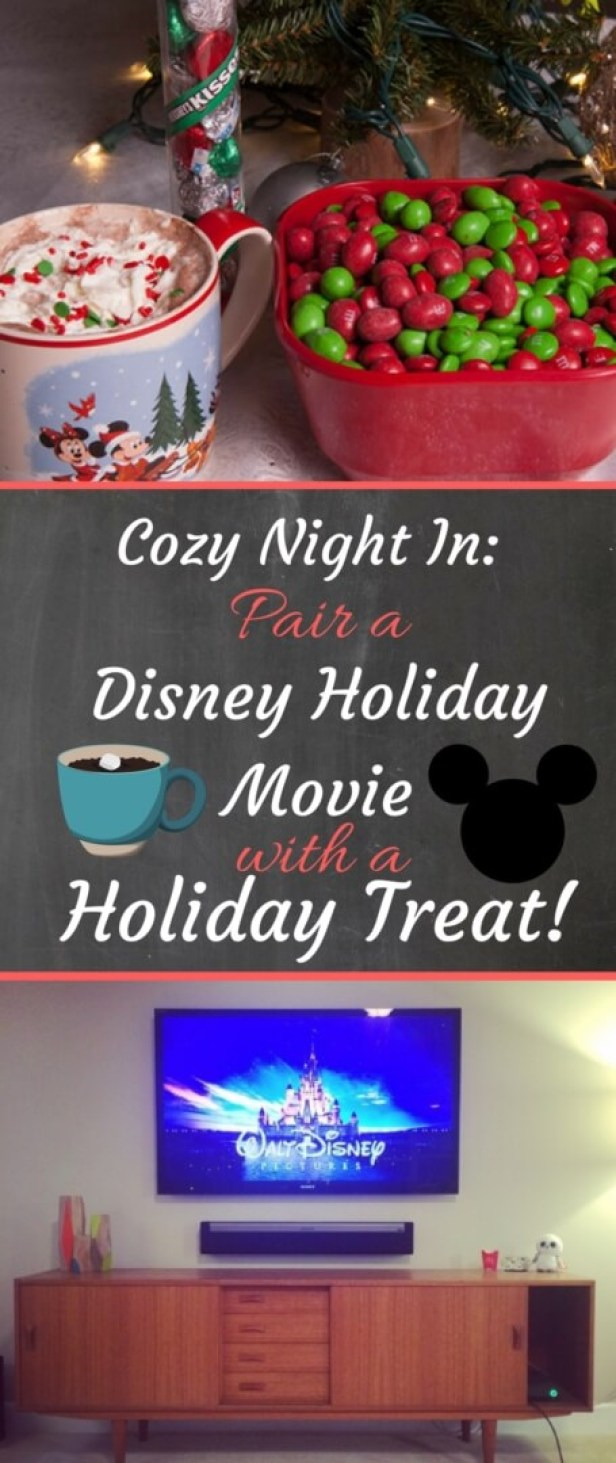 Pair a Disney Holiday Movie with a Holiday Treat