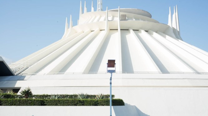 Space Mountain Attraction at Disneyland