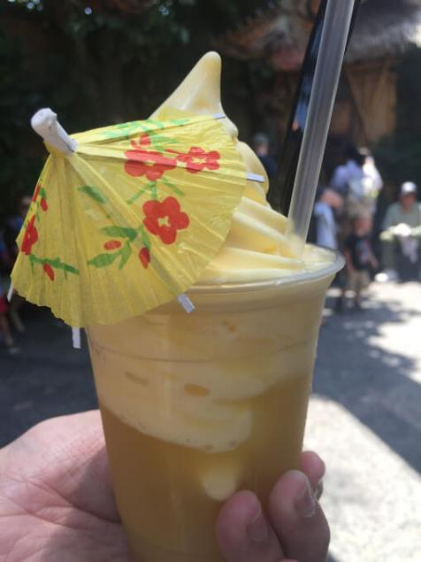 Dole Whip Float: Disney Snacks That Will Put a Pep in Your Step