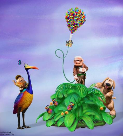 Pixar Play Parade Float Concept | Disney•Pixar/Disneyland Resort