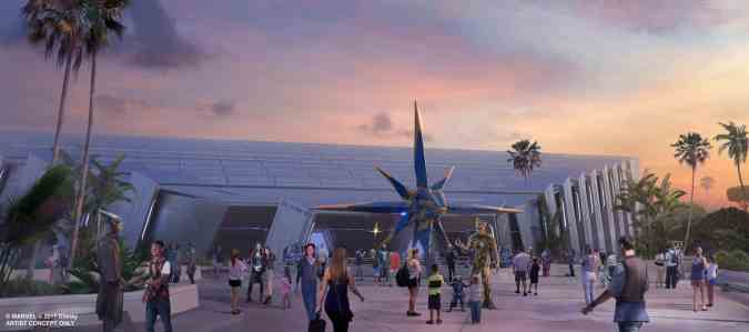 Guardians of the Galaxy Epcot Ellens Energy Adventure Disney World
