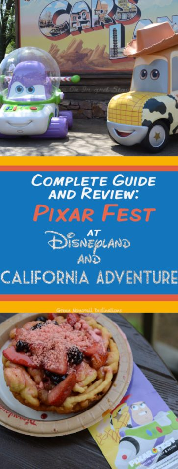 Pixar Fest is a blast this year! A food and entertainment guide to this awesome new festival at Disneyland and California Adventure. #foodie