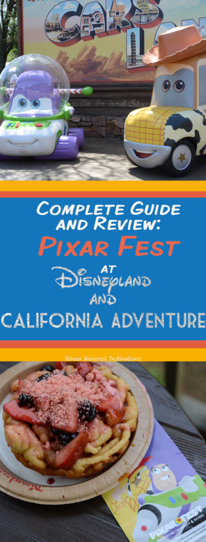 The can't-miss guide to food, drink, and entertainment at Disneyland and California Adventure's Pixar Fest this year! #disneyland #vacation #food