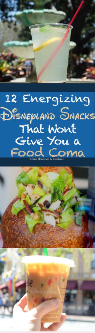 12 Energizing Disneyland Snacks That Won't Put you in a Coma #disneyland #snacks #healthy #food