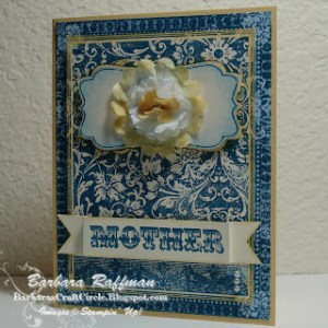 Mother's Day Filter Flower Card