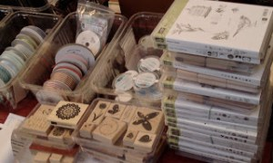 Open House – Retired Goodies, Make'n'Takes, Fabulous Door Prizes!!!