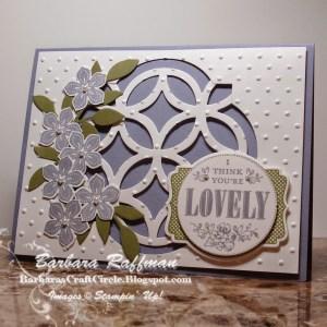 Petite Petals Window Lattice Card