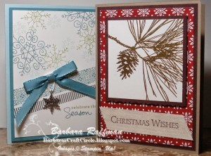 Christmas Card Stamp-a-Stack Cards