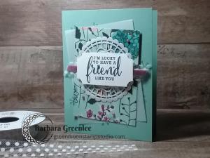 Friend card make and take.