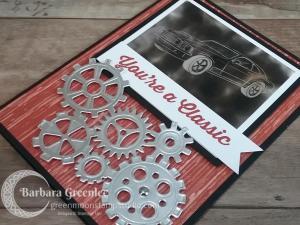 Geared Up Garage Card – Soot Technique