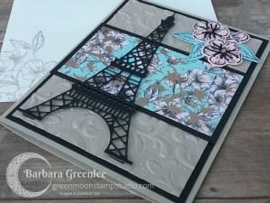 Parisian Flourish Embossing Folder