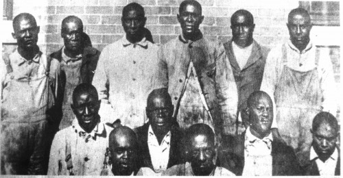 The Elaine Twelve were found guilty of murder and were scheduled to be executed shortly after the massacre. (Image: Courtesy of the Butler Center for Arkansas Studies)