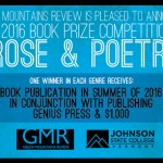 Announcing the first annual Green Mountains Review Book Prize!