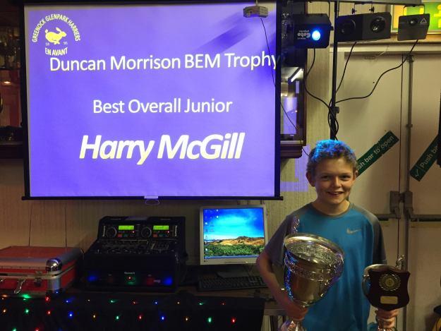 Last Years overall junior winner