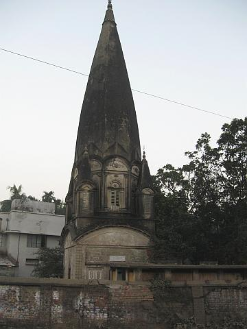 A 200-year-old temple outside Dhaka