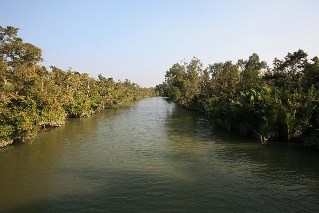 The Sundarbans are a meshwork of criss-crossing river channels
