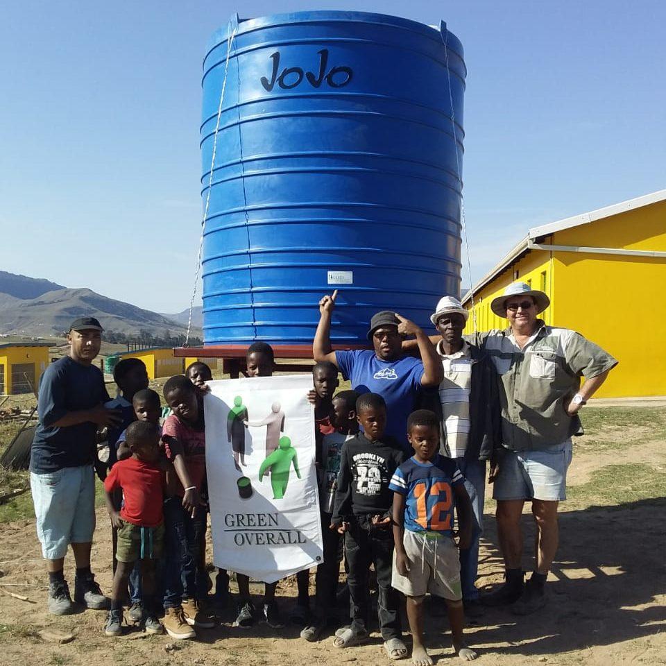 JoJo Water Tank at Ngubezulu