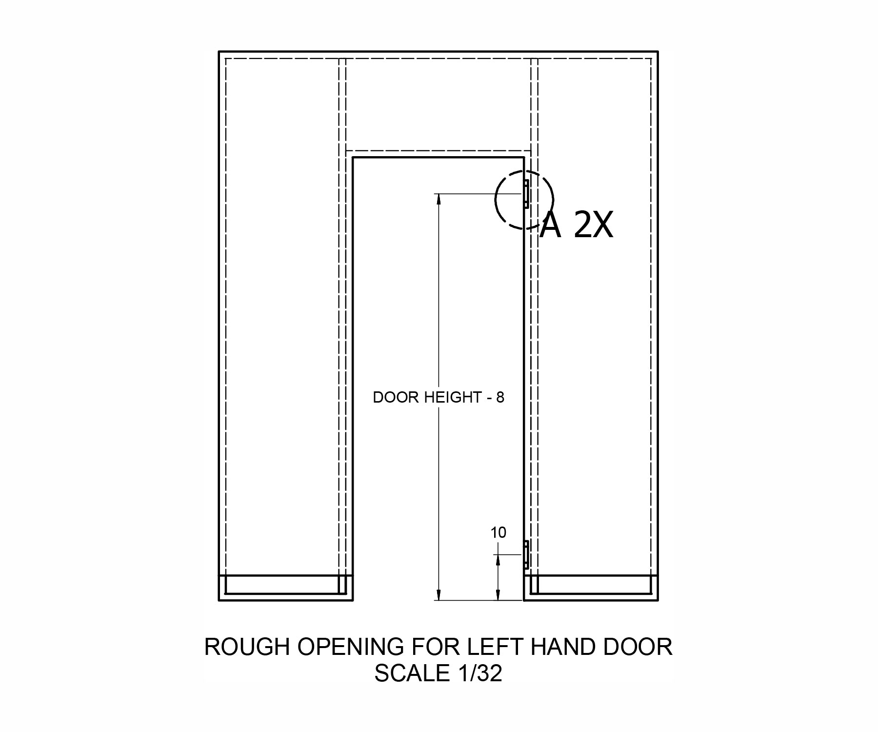 koli modern door installation