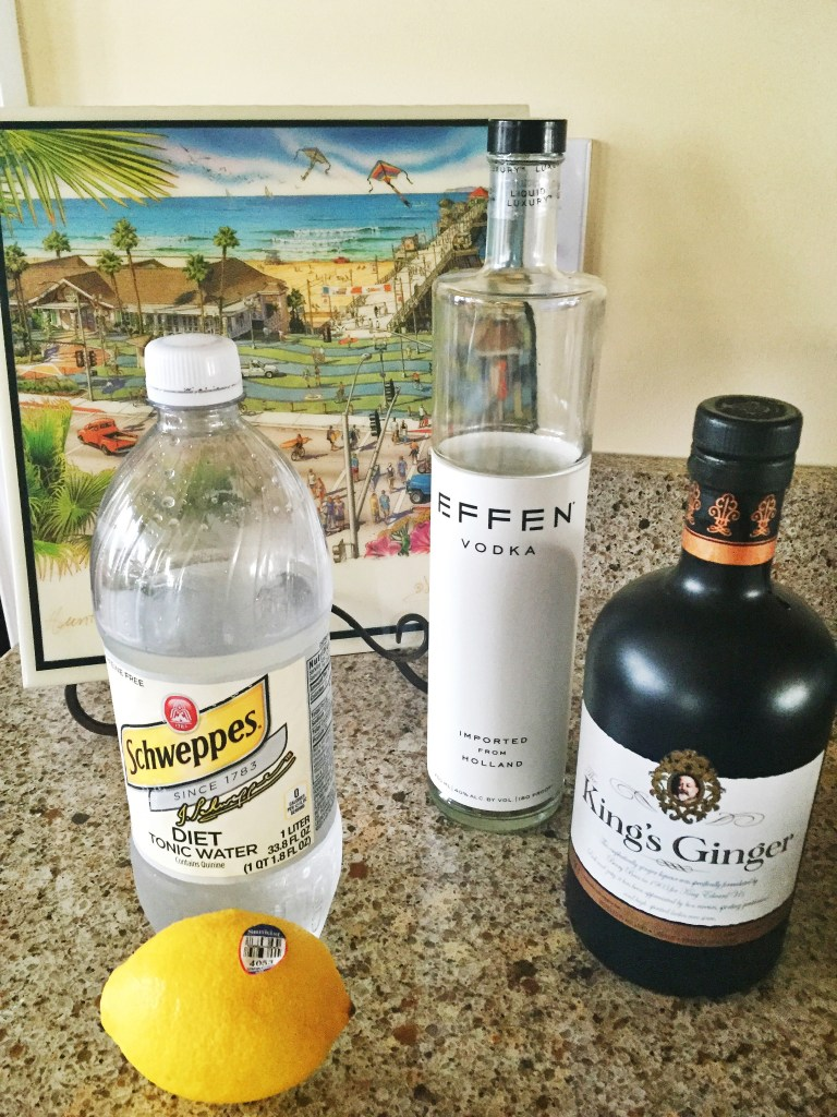 Vodka Ginger Fizz