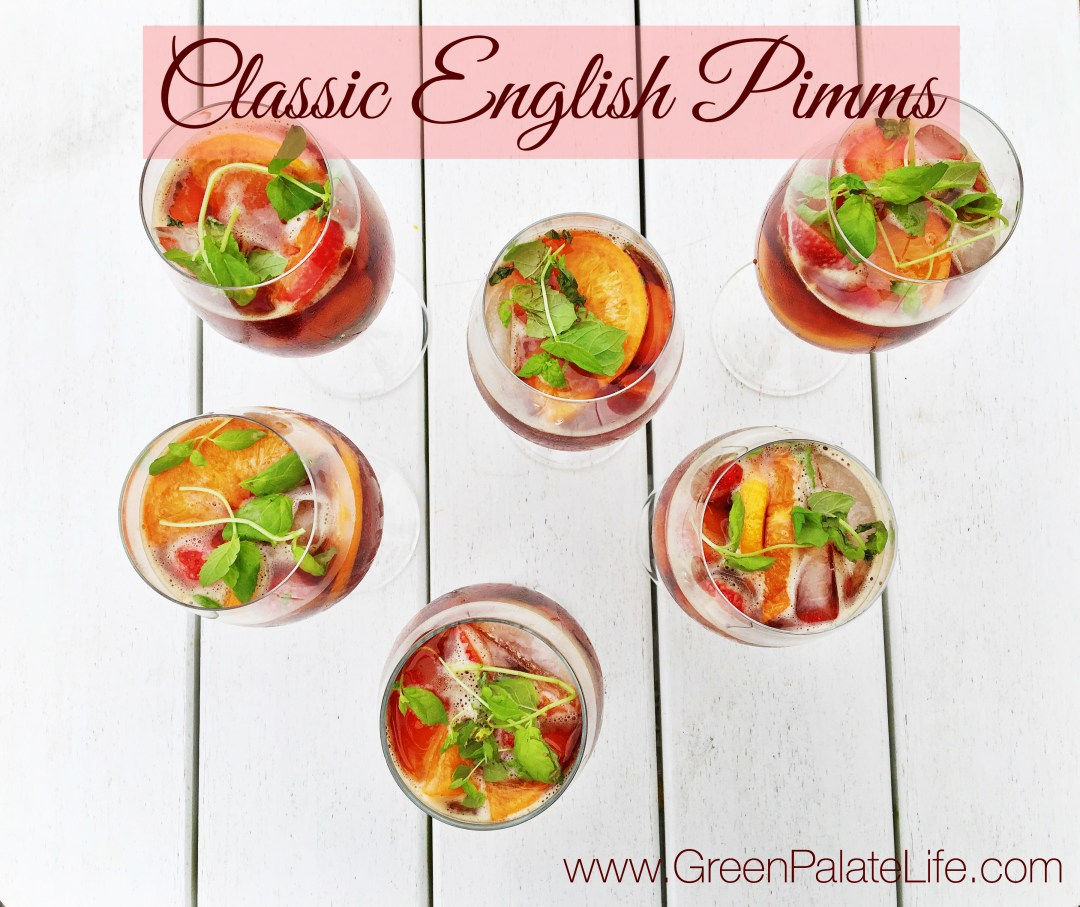 Classic English Pimms Recipe