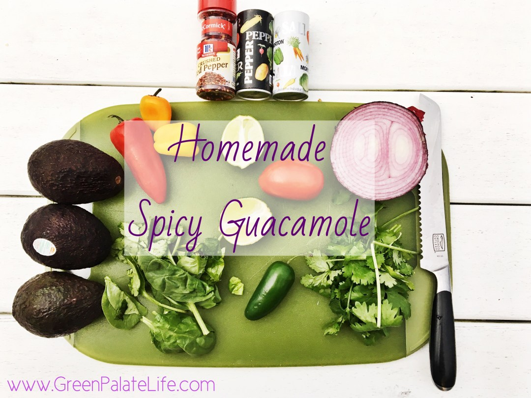 Homemade Spicy Guacamole