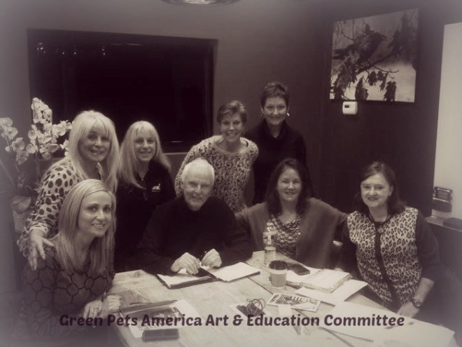 green pets america art & education committee picture