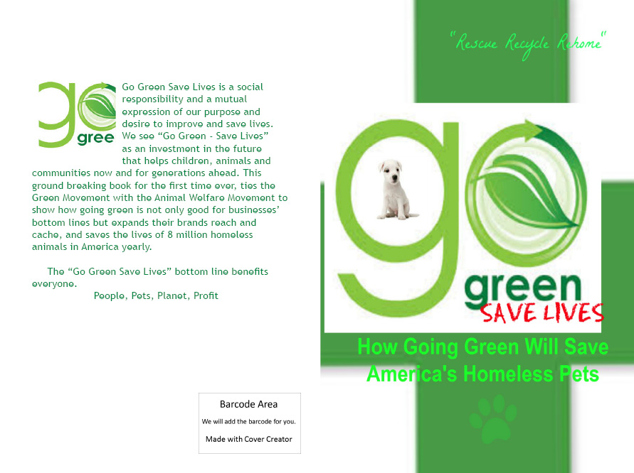 go green save lives book