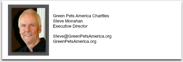 Green Pets America future pet retail America