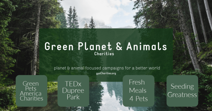 green planet and animal charities