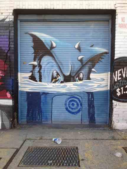 graffiti street art greenpoint brooklyn
