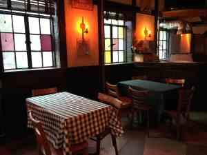 Palace Cafe interior