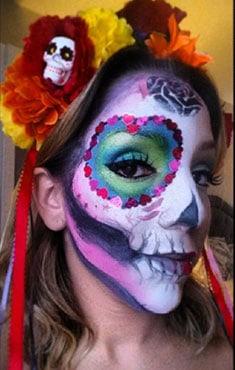 Giselle_FacePainting