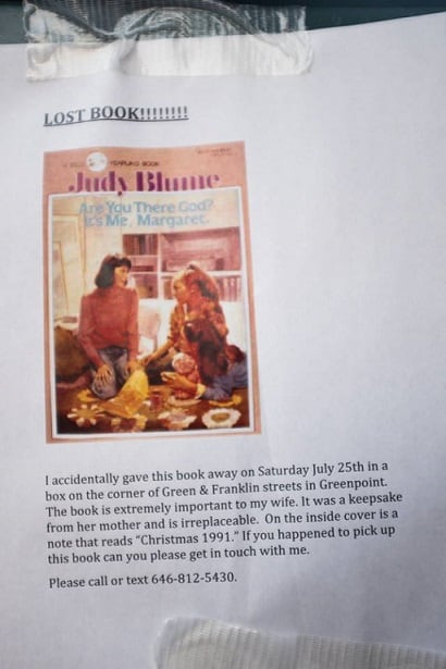 Missing Judy Blume Classic