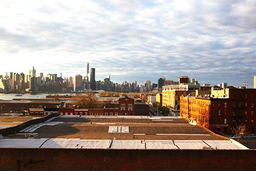 View from Greenpoint Loft's Rooftop © Julia Moak