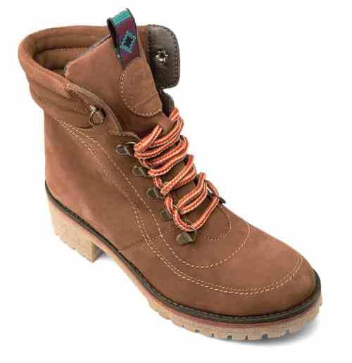 Nubuck Chestnut Hitchhiker Boots, $129