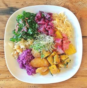 Rainbow Raw Bowl, via Jungle Cafe Instagram regram