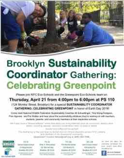 Calling all educators: Celebrate Greenpoint TODAY at 4PM.