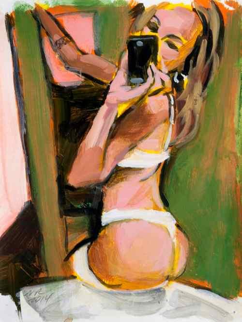 Bather by Walter Robinson