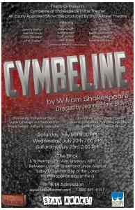 Cymbeline - Shakespeare In The Theater at The Brick