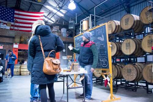 The NY Distilling company offers tours on weekends.