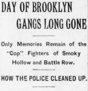 The Brooklyn Daily Eagle, November 10, 1912